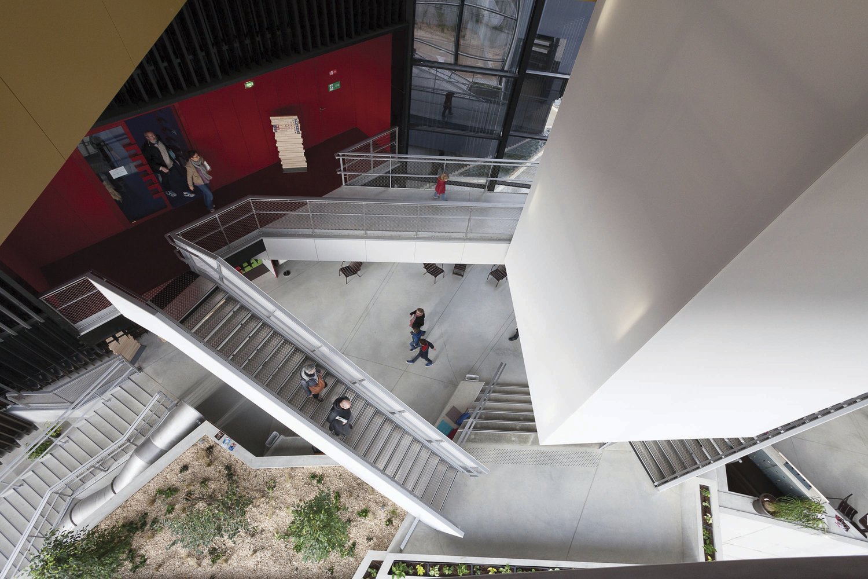 Médiathèque Alpha, Angoulême — © Loci Anima