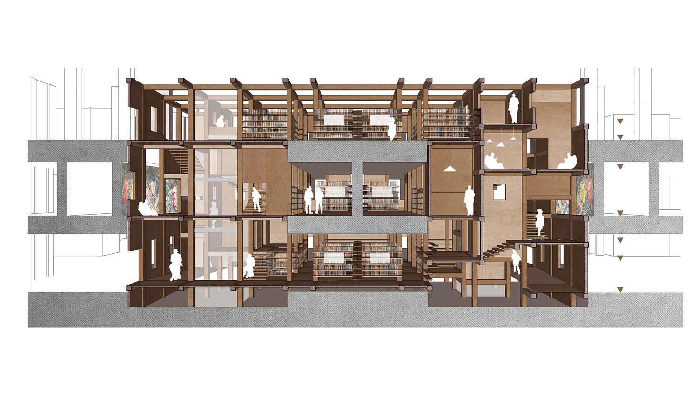 Bibliothèque de la Cité des sciences et de l'industrie, Paris — © Loci Anima