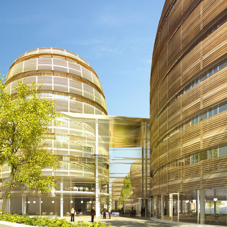 Campus Aragon, Villejuif — © Loci Anima