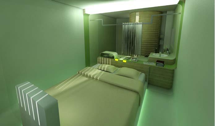 Hotel room for Ibis — © Loci Anima