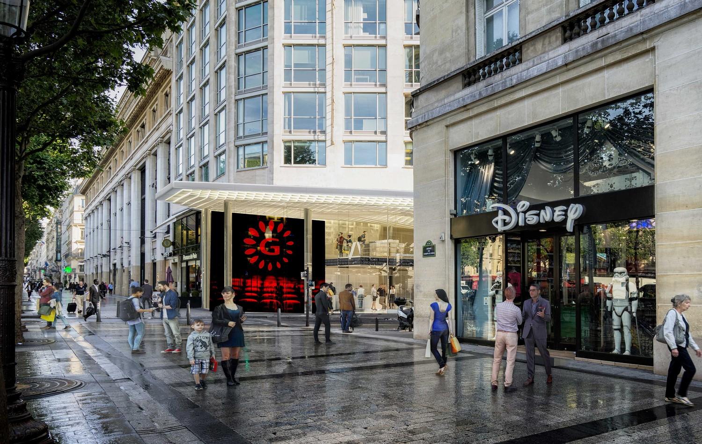 50 avenue des Champs-Elysées, Paris — © Loci Anima