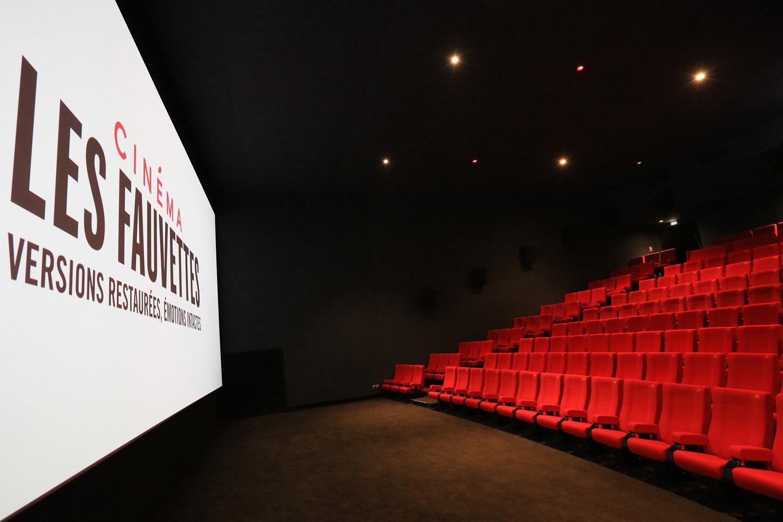 Cinéma Les Fauvettes, Paris — © Loci Anima