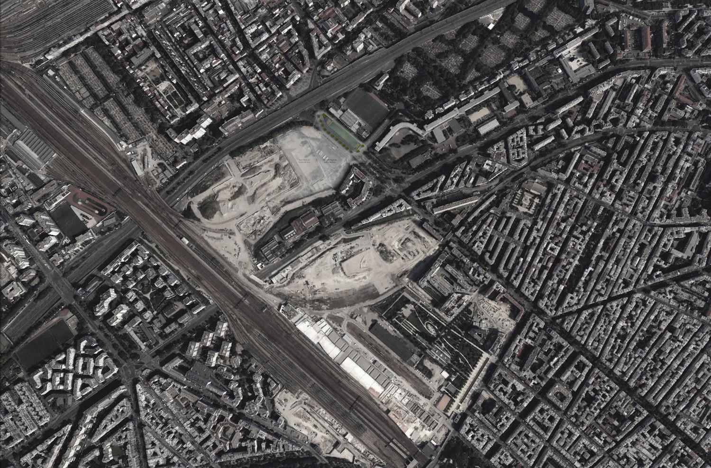 Bureaux La source des Batignolles, Paris — © Loci Anima