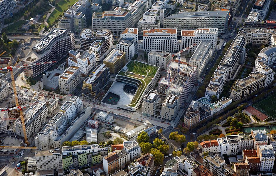Quartier A4 EST, Boulogne-Billancourt — © Loci Anima