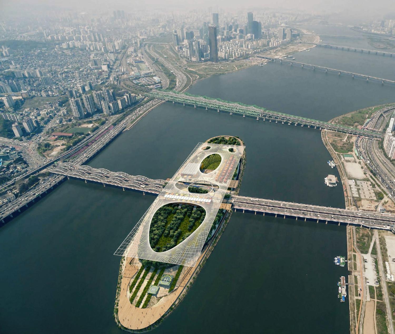 Nodeul Dream Island, Séoul, Corée du Sud — © Loci Anima