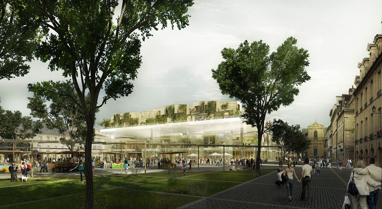 Wellbeing centre, Caen — © Loci Anima