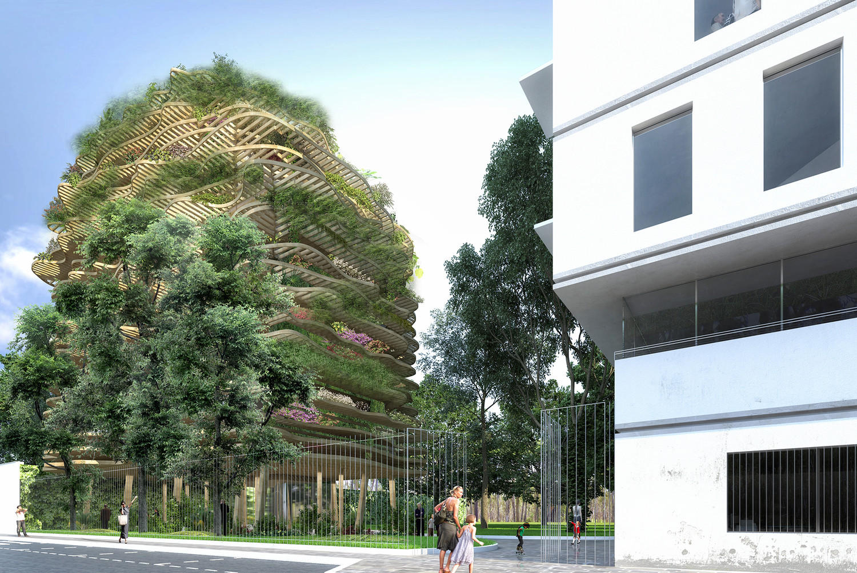 Résidence du Collège Stanislas, Paris — © Loci Anima