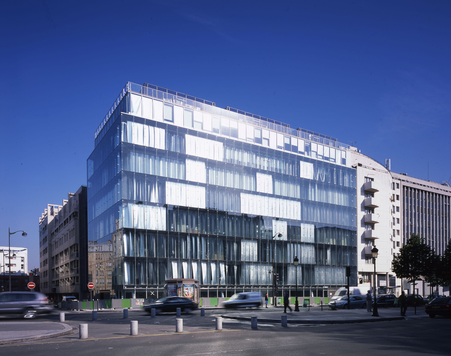 CFDT Head Office, Paris — © Loci Anima